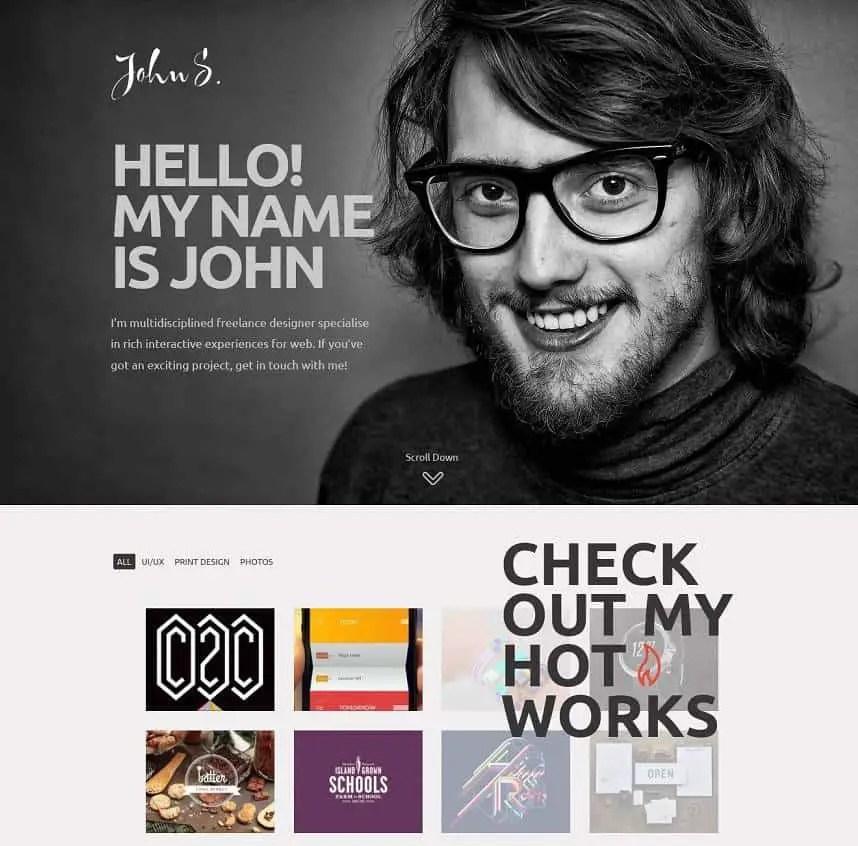john - creative innovative theme