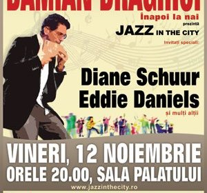 Jazz in the City: concert extraordinar cu Damian Draghici