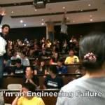 O farsa studenteasca: cel mai neasteptat examen