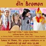 Muzicanții din Bremen: spectacol muzical pentru copii
