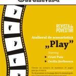 Atelier de scenaristică alături de Cecilia Ștefănescu și Cristi Puiu
