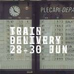 Train Delivery, eveniment de cultură urbană