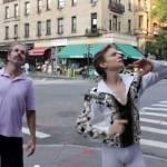 Dansând pe stradă