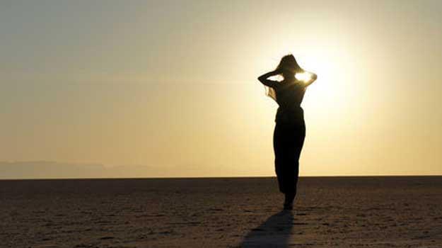 femeie-desert