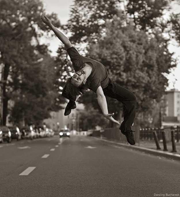 Dancing Bucharest - Attila Bordas