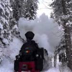 Mocanița în povestea iernii