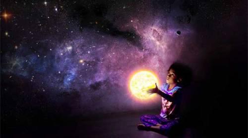 Am privit timid universul