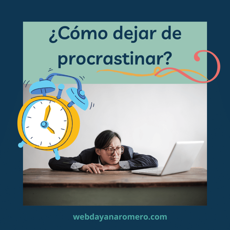 como dejar de procrastinar