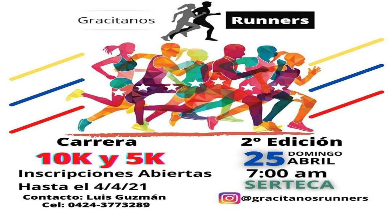 Gracitanos Runners promociona carreras 5K -10K e Infantil
