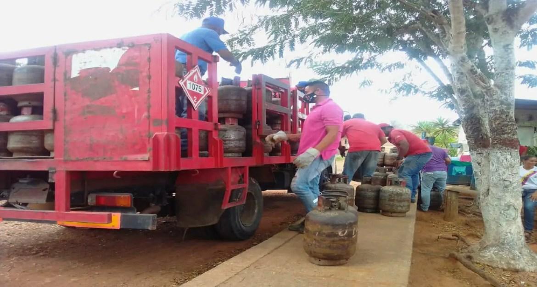 Servicio de gas a domicilio anclado al Petro