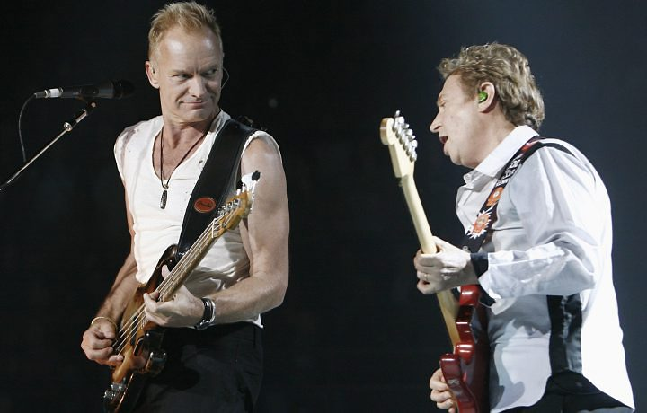 Sting e Andy Summers