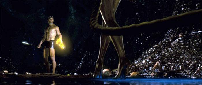 Beowulf cai no charme da sereia dragão angeli