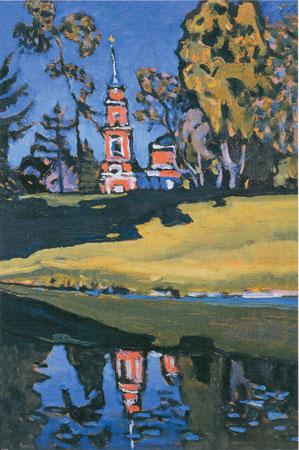 Kandinsky: Igreja Vermelha