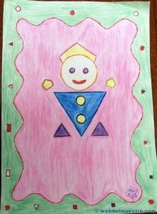 Figuras geométricas tridimensionales primaria