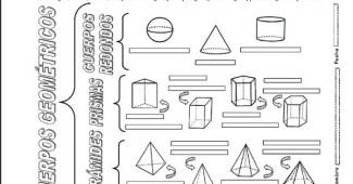 Figuras eometricas tridimensionales: primaria