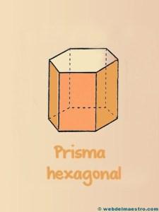 Figuras geometricas tridimensionales: prisma hexagonal