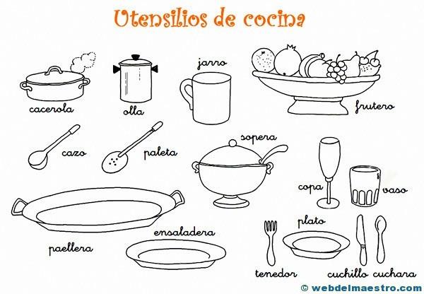 Dibujos-para-colorear-de-utensilios-de-cocina