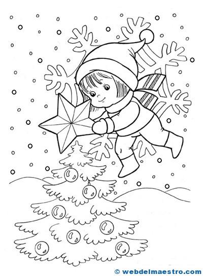 Dibujos de Navidad-9