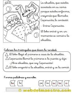 Caperucita Roja actividades-2