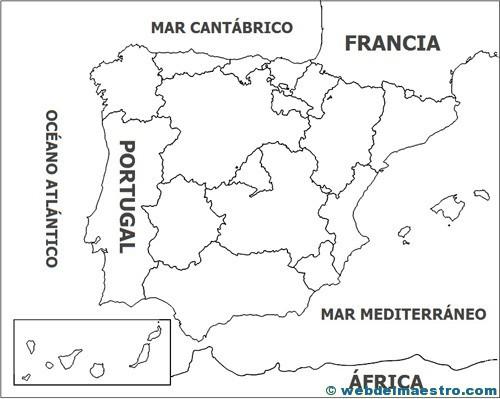 Mapa Político Web Del Maestro