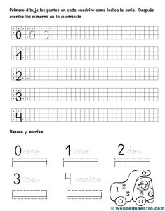 Escritura de números