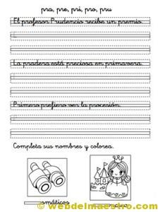 Ejercicios de caligrafía-2