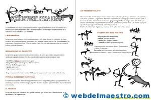 Prehistoria para niños-3