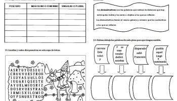 Gramática española | Reglas gramaticales con ejercicios ...