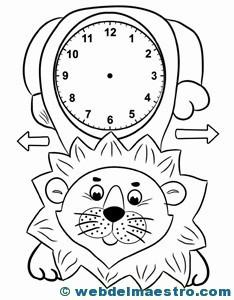 Relojes para aprender la hora-3