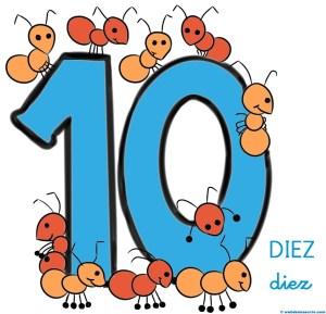 Fichas de números para niños-10