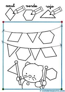Dibujos con figuras geométricas - Web del maestro