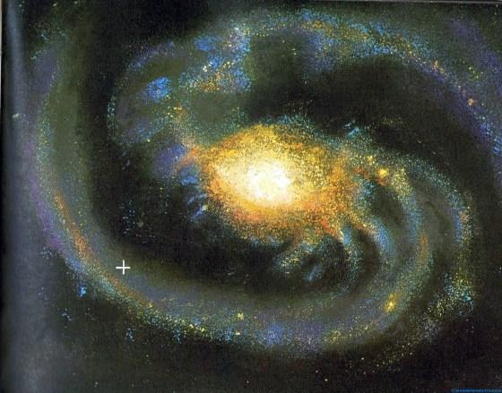 Situación del Sol en la Vía Láctea