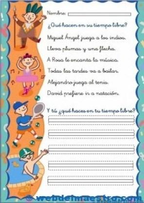 Fichas de lectoescritura 3