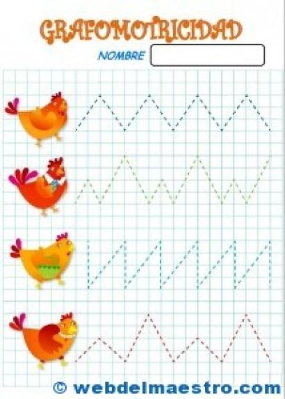 Fichas de grafomotricidad 2