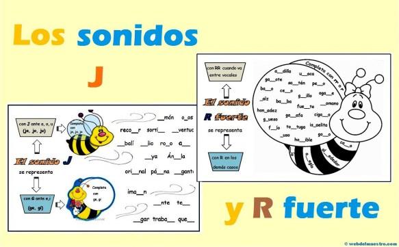 Los sonidos J y R fuerte-.-.