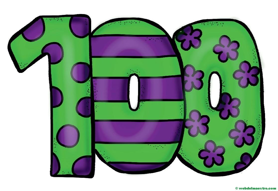 Números del 1 al 100 - Web del maestro
