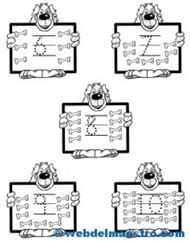 Actvidades-números del 6 al 10