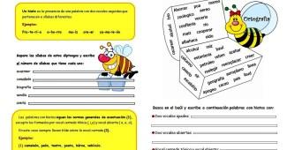 Hiato-Ejercicios de ortografía