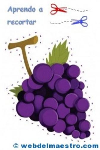 Uvas para recortar
