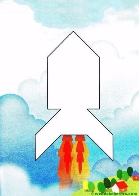 Figuras de tangram para completar-8