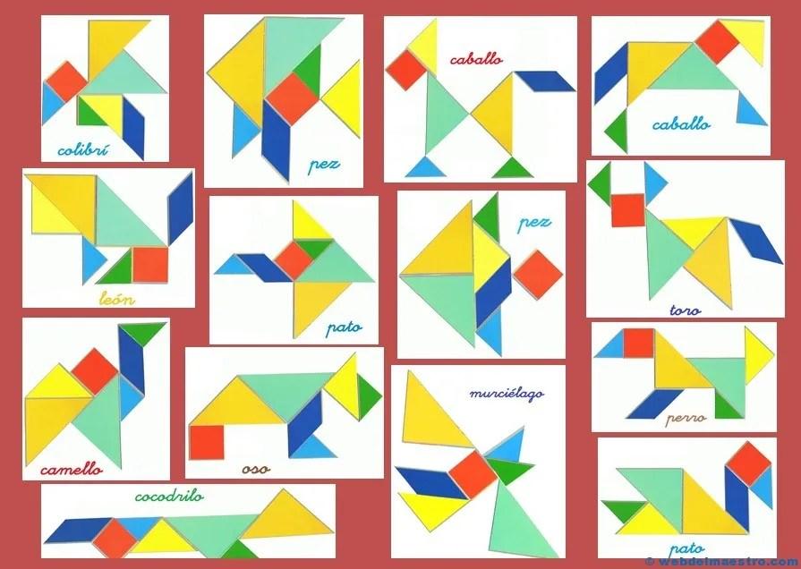 Tangram | Figuras para imprimir online