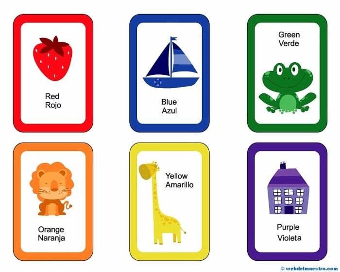 Colores ingles y español-1
