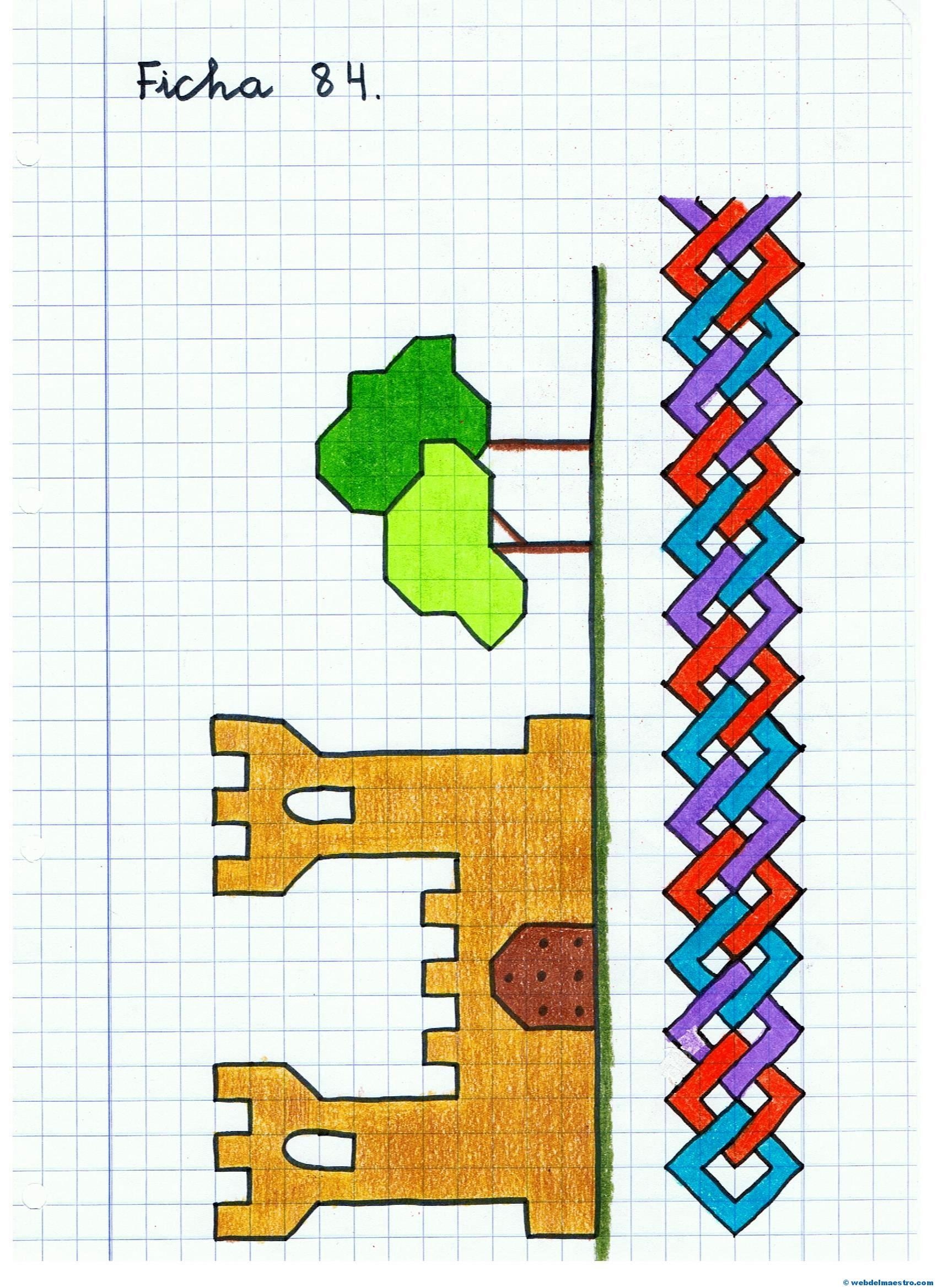 Dibujos en cuadrícula - Web del maestro