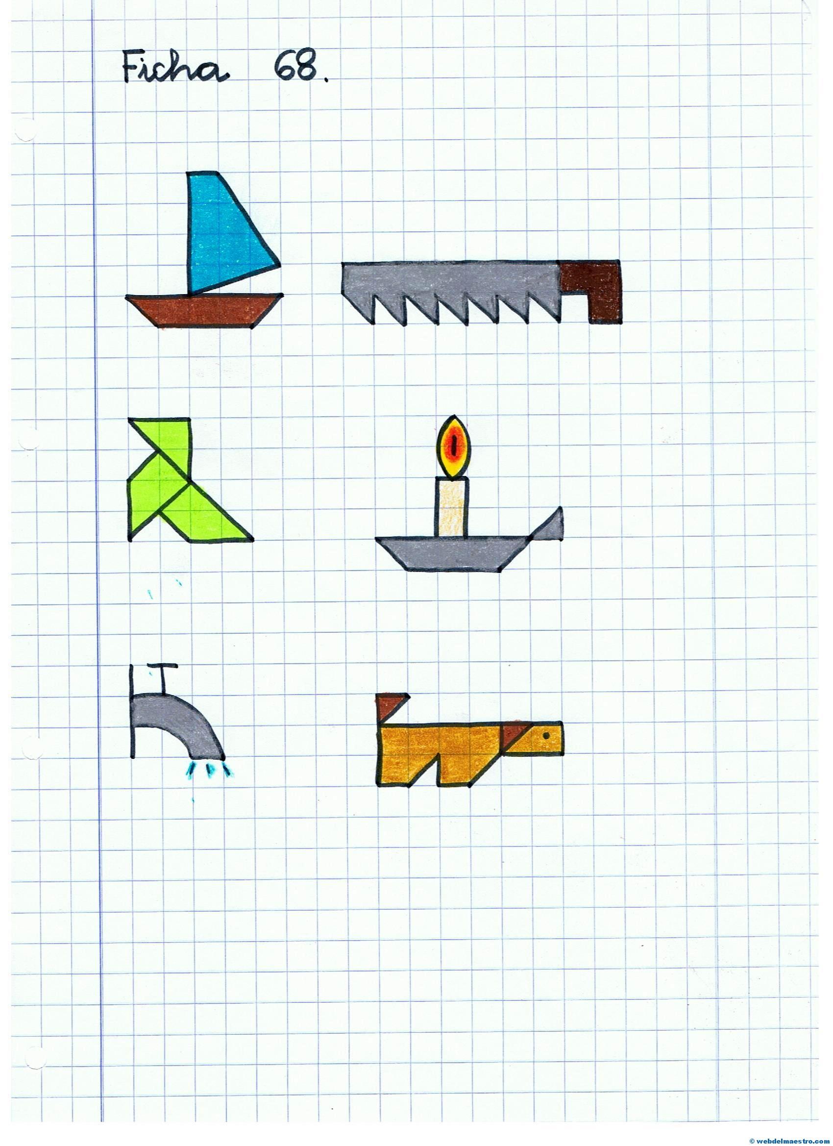 Dibujos En Cuadricula Web Del Maestro