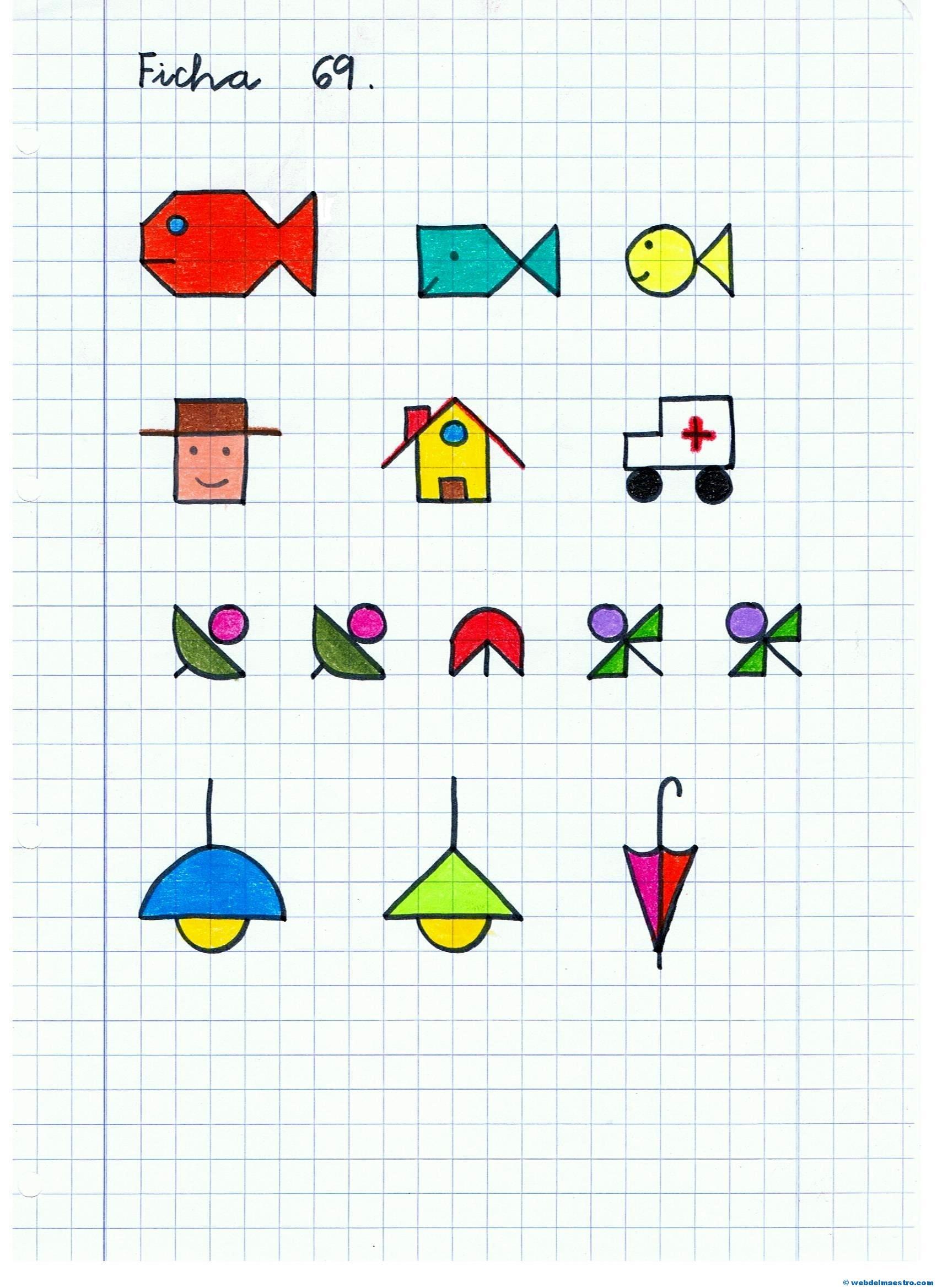 Dibujo En Cuadricula Para Colorear