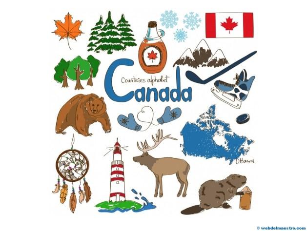 Paises en ingles-Canadá