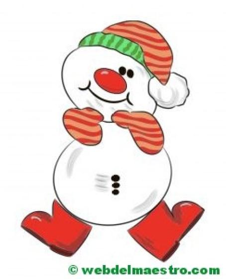 muñeco de nieve 1-color
