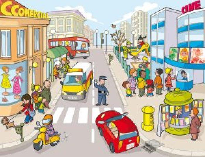 Imagen 7-La calle-los transportes