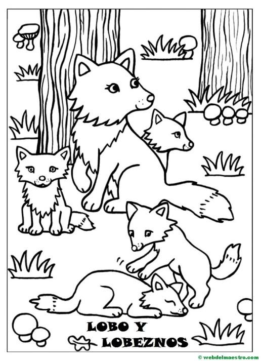 Lobo y lobeznos