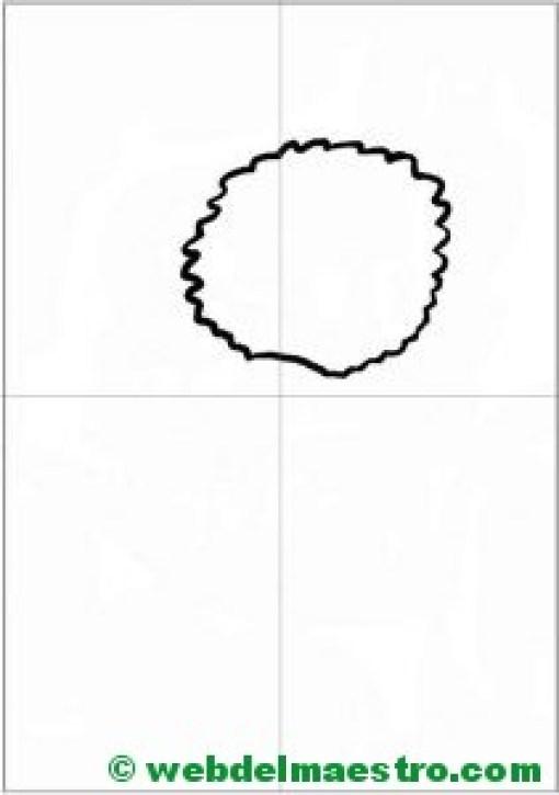 Como dibujar un koala- paso 1